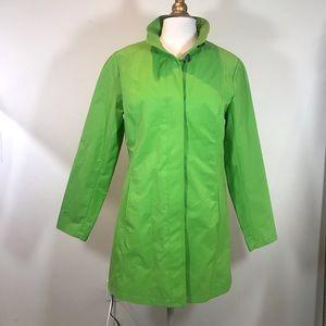 Eddie Bauer Green Trench Coat